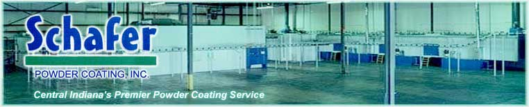 Schafer Powder Coating - Central Indiana's Premier Powder Coating Service